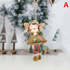 Christmas Angel Doll Pendants Christmas Tree Ornaments Xmas Decor Kids ToysT 2-