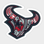 Houston Texans vinyl sticker for skateboard luggage laptop tumblers car (f) $7.99 USD on eBay
