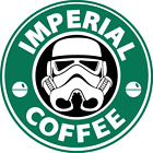 Imperial Coffee Star Wars sticker for skateboard luggage laptop tumblers $1.99 USD on eBay