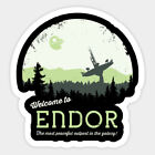 Endor Star Wars sticker for skateboard luggage laptop tumblers $1.99 USD on eBay