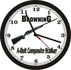 BROWNING A BOLT COMPOSITE STALKER WALL CLOCK-FREE USA SHIP!