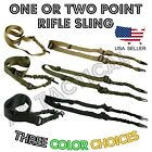 Single One Point Tactical Rifle Gun Sling w/ Quick Release Buckle