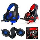 Gaming Headset Cuffie stereo MIC LED Headphone For Gaming/PC/ Switch 3.5mm