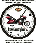 2013 VICTORY CROSS COUNTRY TOUR LE WALL CLOCK-FREE USA SHIP! $55.99 USD on eBay
