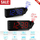 LCD Digital LED Projector Projection Snooze Alarm Clock Radio Timer Backlight KY