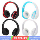 Foldable Wireless Sports Bluetooth Headphone Headset With Mic Stereo Universial