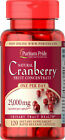 Puritan's Pride One A Day Cranberry - 120 Capsules Urinary Tract Health $27.99 USD on eBay