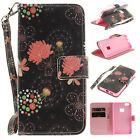 New Magnetic Flip Wallet Card Slot Pu Leather Stand Case Cover For Various Phone