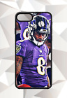 LAMAR JACKSON BALTIMORE RAVENS IPHONE 5 6 7 8 X PLUS (US SELLER) CASE 1 $14.95 USD on eBay