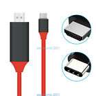 USB 3.1 Type C to 4K HDMI HDTV TV Adapter Cable for Samsung Galaxy S8 S9 note8 9