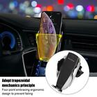 X5 Auto Clamping Qi Wireless Car Fast Charger Mount Air Vent Mobile Phone Holder
