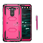 Hybrid Rugged Shockproof Rubber Heavy Duty Protective Phone Slim Hard Case Cover