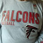 New NFL Licensed NFL Atlanta Falcons Lng Sl. Tee Shirt  XLT, 2X, 4X, 5X, 6X, 4XT $20.69 USD on eBay