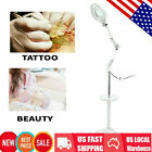 New 5X/8X Magnifier Lamp with Tray Floor Stand – Salon Beauty Nail Tattoo
