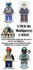LEGO Star Wars BOUNTY HUNTERS and PIRATES Minifigures **USED** $7.0 USD on eBay
