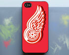 Detroit Red Wings Hockey Logo Samsung S6 S7 S8 iPhone X SE 7 6 11 case $13.49 USD on eBay