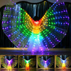 Girls Kids Childrens LED Isis Wings Belly Dance Light Show Costume Egyptian hot