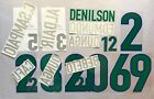 KIT NAME + NUMBER Official Brazil Home FIFA World Cup 1998 Official Nameset