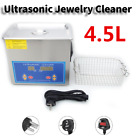 4.5L Ultrasonic Cleaner Digital Timing Heating Ultrasonic Jewelry Cleaner 240HTD
