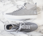 (US 18) Del Toro leather sneakers in gray