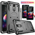 For LG K20 Plus/K20 V/K10 2017 Shockproof Armor Case Cover With Screen Protector