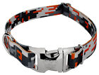 Country Brook Design® Premium Orange Digital Camo Dog Collar