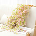 Artificial Flower Real Touch Hanging Fake Vine Plant Wedding Home Garden Decor