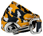 Country Brook Petz® Black and Gold Camo Dog Leash