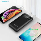50000mAh Power Bank 2USB LCD 2LED Portable Charger Battery For iPhone 11 8 XS XR