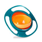 360 Rotating Bowl Magic Baby Feeding Infant Gyro Bowl Non No-Spill Cup Kids Gift