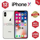 Apple iPhone X (iPhone 10) 64GB 256GB All Colours Unlocked SIM Free Smartphone