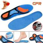 Gel Orthotic Sport Running Insoles Insert Shoe Pad Arch Support Cushion Mens OBS