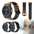 Luxury Leather Replacement Watch Wrist Band Strap for Samsung Galaxy Watch 46mm
