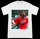 Tupac Shakur 2Pac Wearing Detroit Red Wings Jersey T Shirt $19.99 USD on eBay