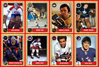 RETRO 1960s 1970s 1980s 1990s Hockey Card Style PHOTO CARDS U-Pick THICK (Set 2) $1.78 USD on eBay