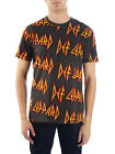 Def Leppard All Over Print Hair Metal 80's Rock Men's T-Shirt NWT image
