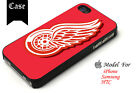Detroit Red Wings Hockey Logo Samsung S6 S7 S8 New iPhone 6 7 8 SE 11 case $10.49 USD on eBay