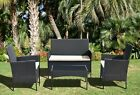 Rattan Garden Furniture 4, 9, 11 Piece Sets, Table, Chairs & Cushions Included