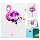 For iPad Air 2/Mini/6th Gen Patterned Smart Leather Card Slot Stand Case Cover