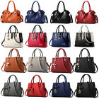 Women Lady Leather Handbag Shoulder Messenger Satchel Tote Hobo Crossbody Bag image