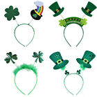 St. Patricks Day Fancy Headband Dress Irish Leprechaun Party Hair Clasp Green