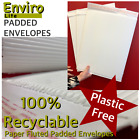 100% Biodegradable Recyclable Paper FLUTED ENVELOPES Padded Postal Bags A5 A4 A3
