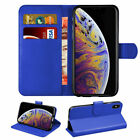 For IPHONE XS Pro MAX XR 7 6 SE Magnetic PU Leater Wallet Flip Book Stand Case
