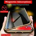 Anti-Spy Dual Layer Magnetic Phone Case Privacy Protective Tempered Glass Cover $8.34 USD on eBay