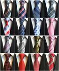 1 Pc Men's Neck Plaid Striped Ties Formal Business Luxury Wedding Party Neckties