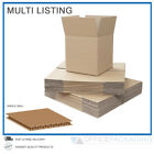 New SMALL SINGLE WALL CARDBOARD BOXES MOVING POSTAL HIGH QUALITY - MULTI LISTING