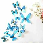 ❤️12 X 3D Butterfly Wall Stickers Home Decor Room Decoration Sticker Bedroom UK
