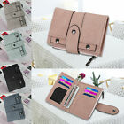 Leather Wallet for Women Ladies Credit Card Holder Bifold Purse Clutch Handbag image