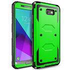 For Samsung Galaxy J3 2017 Emerge Mission Phone Case Rugged Armor Holster Cover