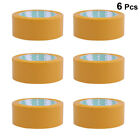 6 Roll Sealing Tape Practical Packaging Tape Box Packing Tape for Daily Use Home